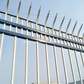 Powder Coated Decorative Zinc Steel Fence